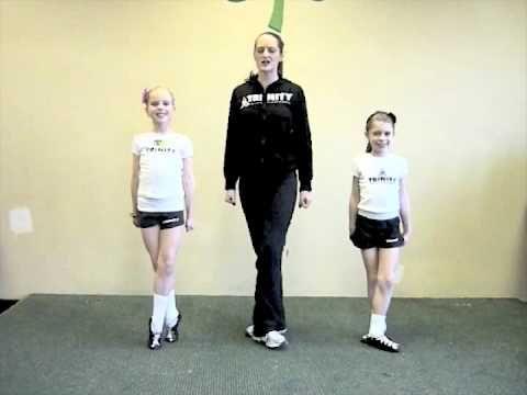 Arts Activity -- How to dance the Irish Reel with Trinity Irish Dancers