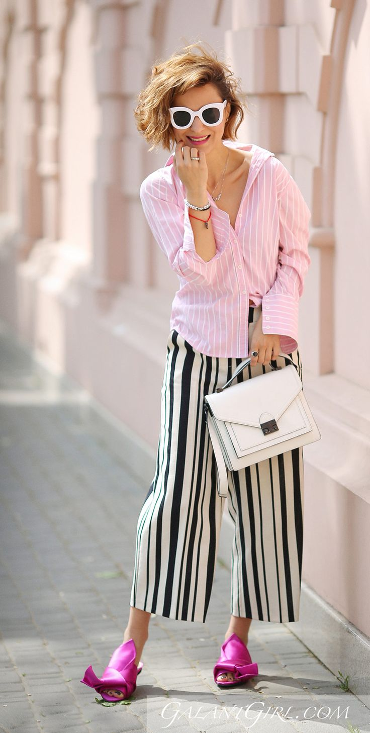 MIXING STRIPES OUTFITS, mixing striped patterns,