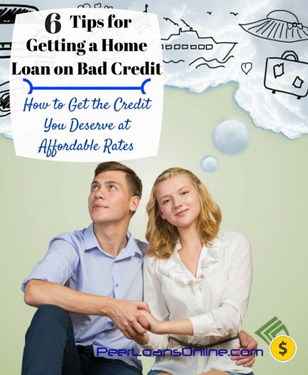 Six tips for getting a home loan on bad credit and at an interest rate you can afford. Tips on how to increase your credit score, how to use loans to boost your FICO and how to buy the home of your dreams.