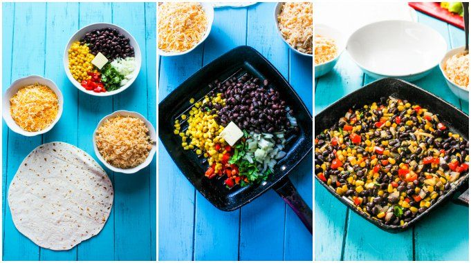 Crispy Black Bean and Rice Burritos | Gimme Delicious