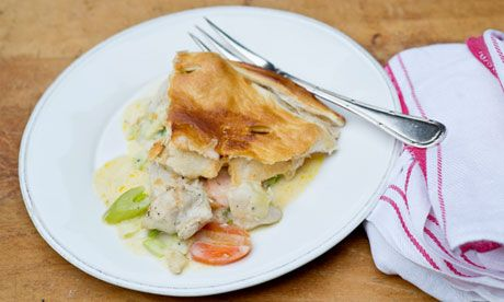 Angela Hartnett's quick chicken pie recipe | Life and style | The Guardian