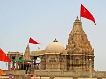 Temple of Lord Krishna's wife Rukamini near at dwarka book #hotels #in #dwarka. http://www.dwarkahotels.in/dwarka-sightseeing
