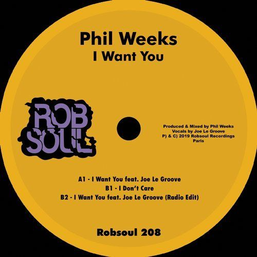 Phil Weeks, Joe Le Groove – I Want You / RB208 | The