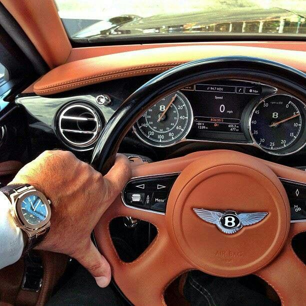 Bentley and timepieces: Enviable combo