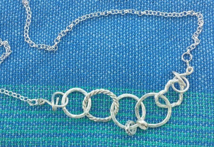 Custom, chain with treble clef clasps