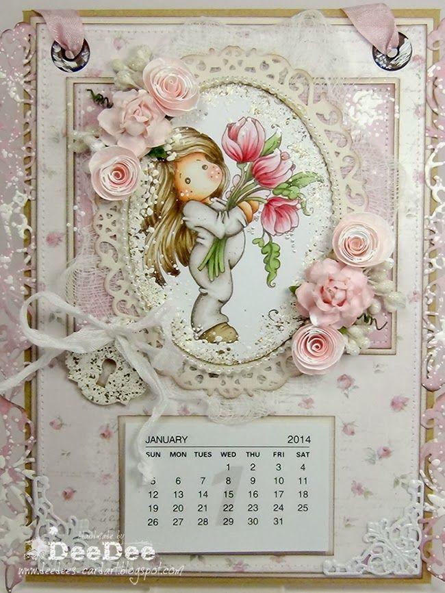 Carta di arte di DeeDee: ♥ Marvelous Magnolia Birthday Bash DT ♥