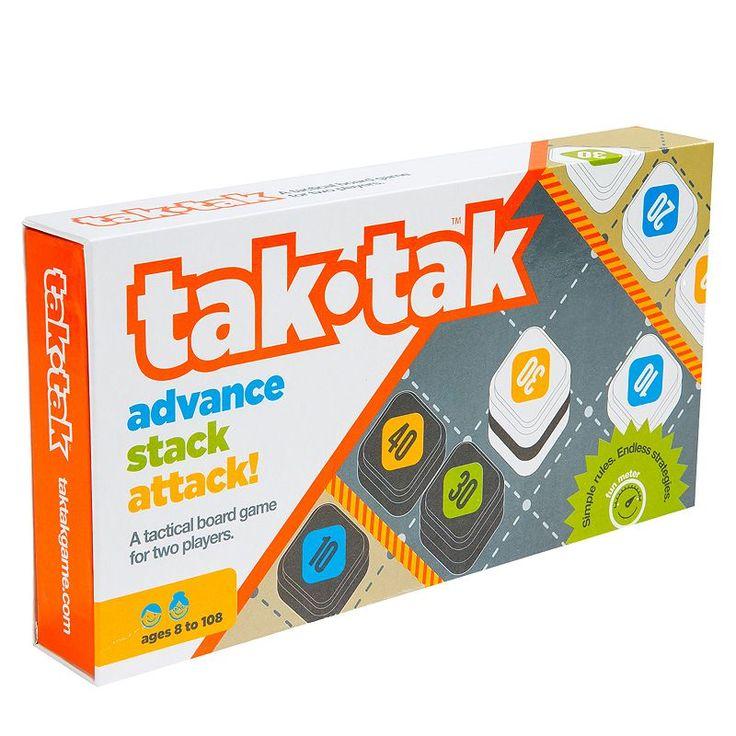 Twizmo! Tak-Tak Tactical Board Game, Multicolor