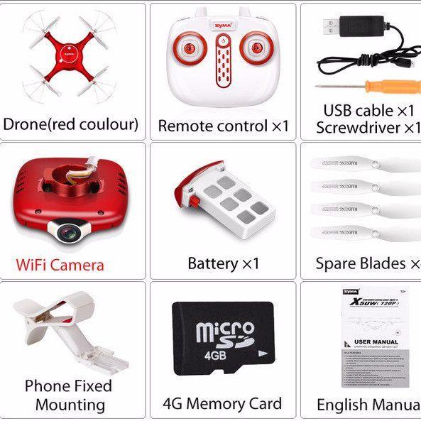 Syma X5UW Drone | WiFi Camera | RC Helicopter | Drone Quadcopter