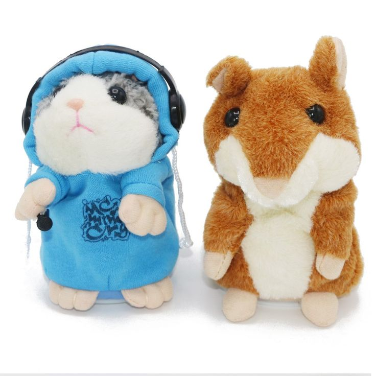 Talking Hamster Toy - Cute Hamster Mouse - FREE Shipping
