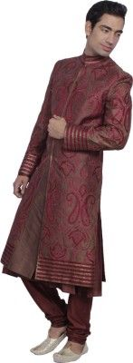 DS Embroidered Sherwani Price in India - Buy DS Embroidered Sherwani online at Flipkart.com