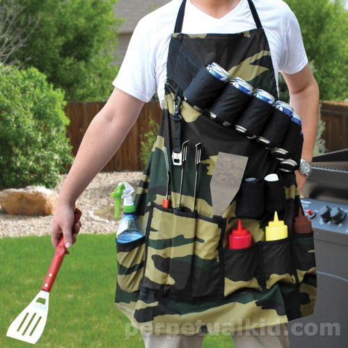 "Looking for the perfect ""bad"" gift? Here's this year's list of bad Father's Day gifts like the Grill Sargent apron...you'll also find Chuck Norris, manly cologne, beer belly on-the-go-beer dispenser and more!"