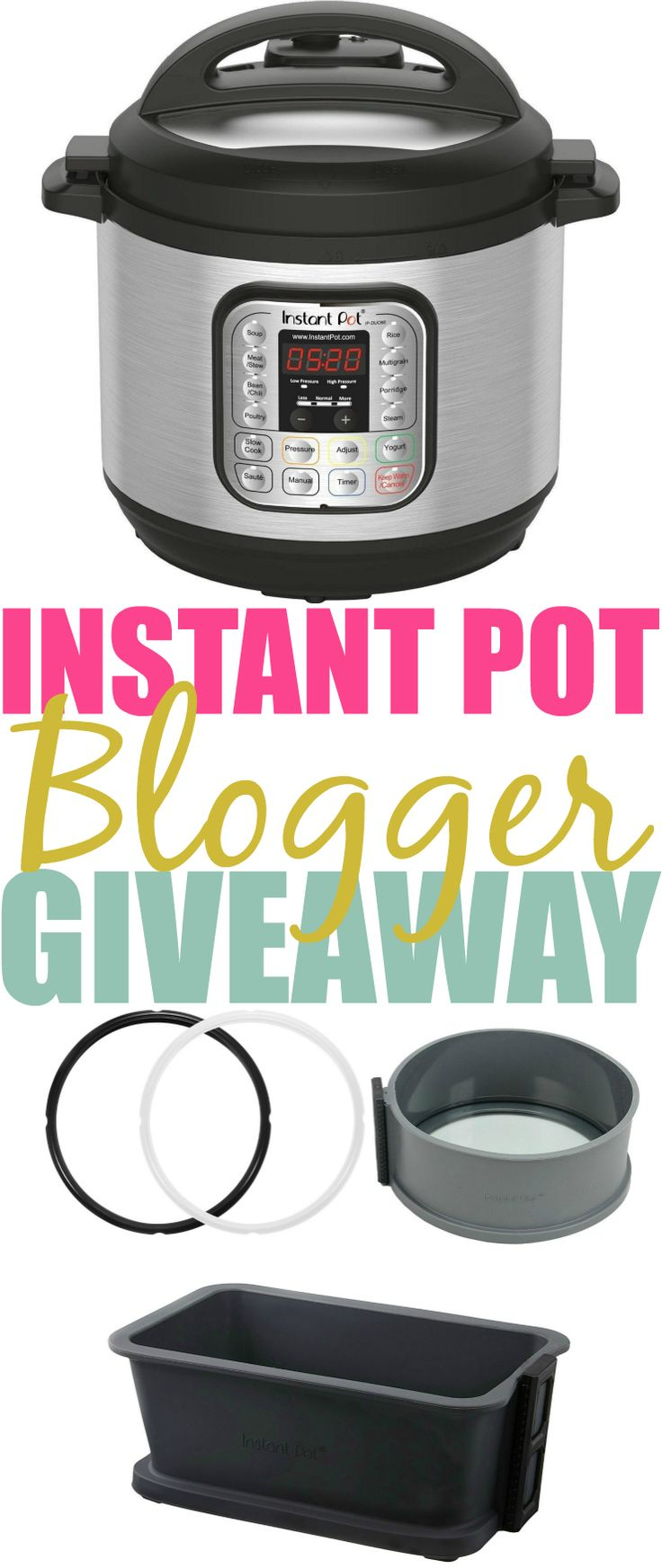 Have you tried this new kitchen trend?Enter to WIN an Instant Pot now. Open to US/CAN.