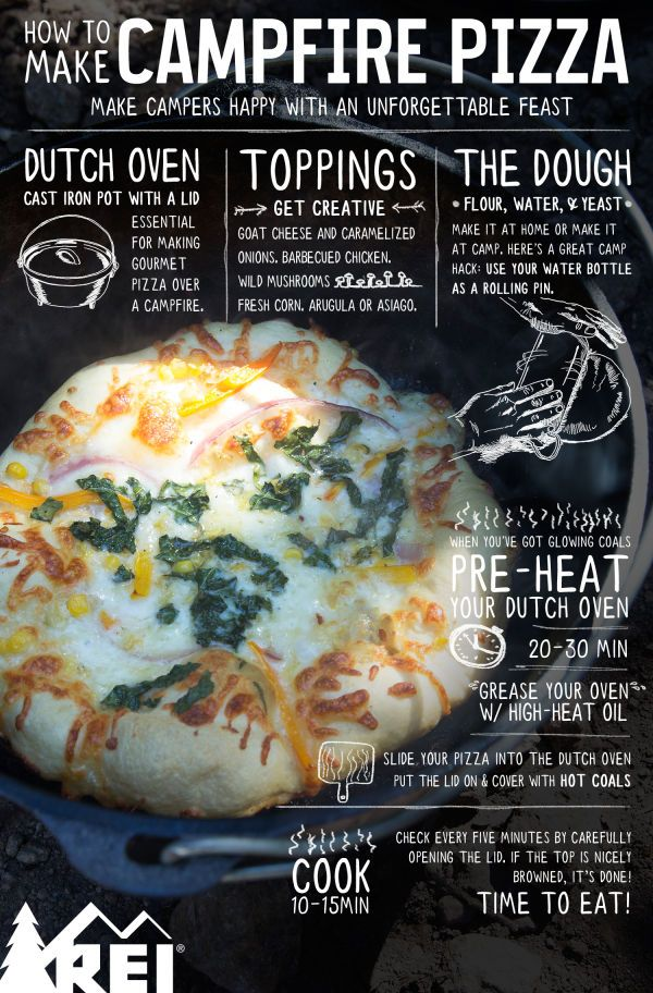 How to Make Campfire Pizza - REI Blog
