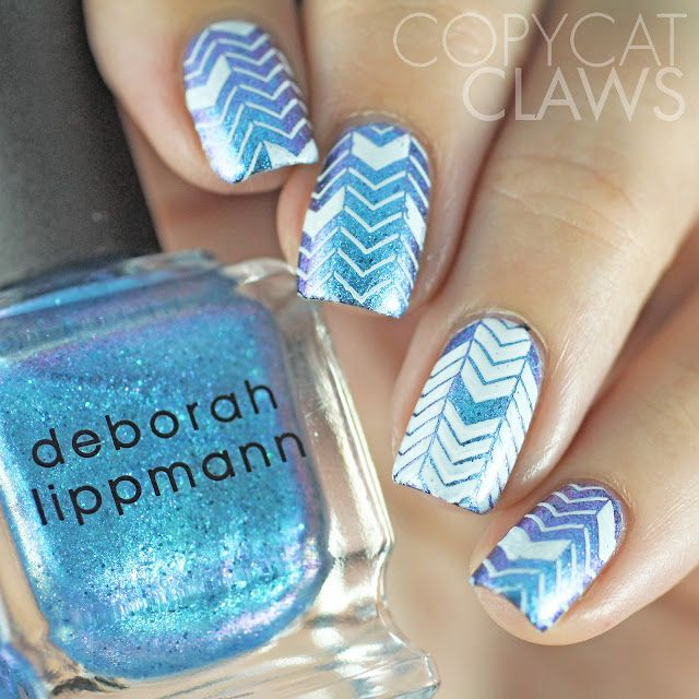 Copycat Claws: It Girl Nail Art Stamping Plates Review This is a great spring summer pattern! Can't wait to try this for my next mani! Nail art brought to you by Uber Chic Beauty Stamps! Check out the website for more awesome nail designs and ideas! UberChicBeauty.com Love nail art!