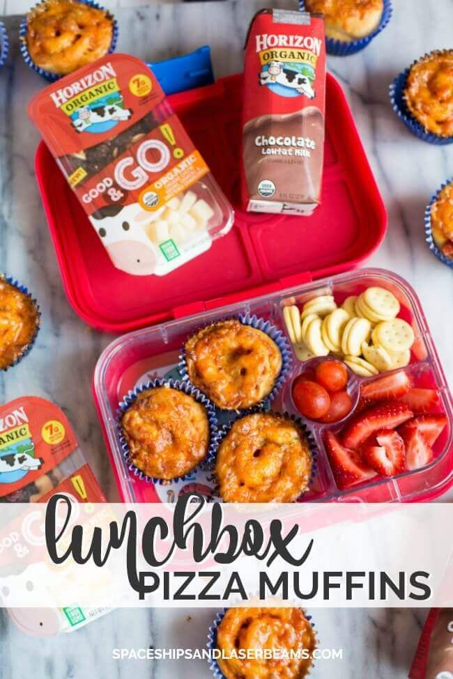 School Lunchbox Ideas: Pizza Muffins