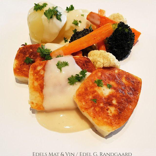 Edels Mat & Vin: Fiskepudding med hvitvinsaus og blomkål (Godtlever...