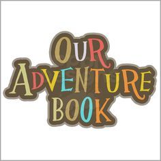 my adventure book stencil - Google Search