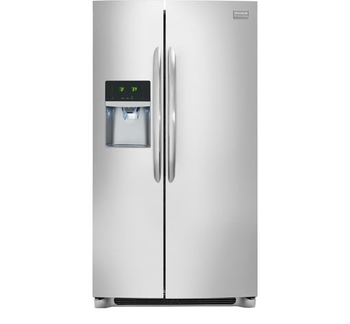 Frigidaire Gallery 22.2 Cu. Ft. Side-by-Side Refrigerator Stainless Steel-FGHS2355PF