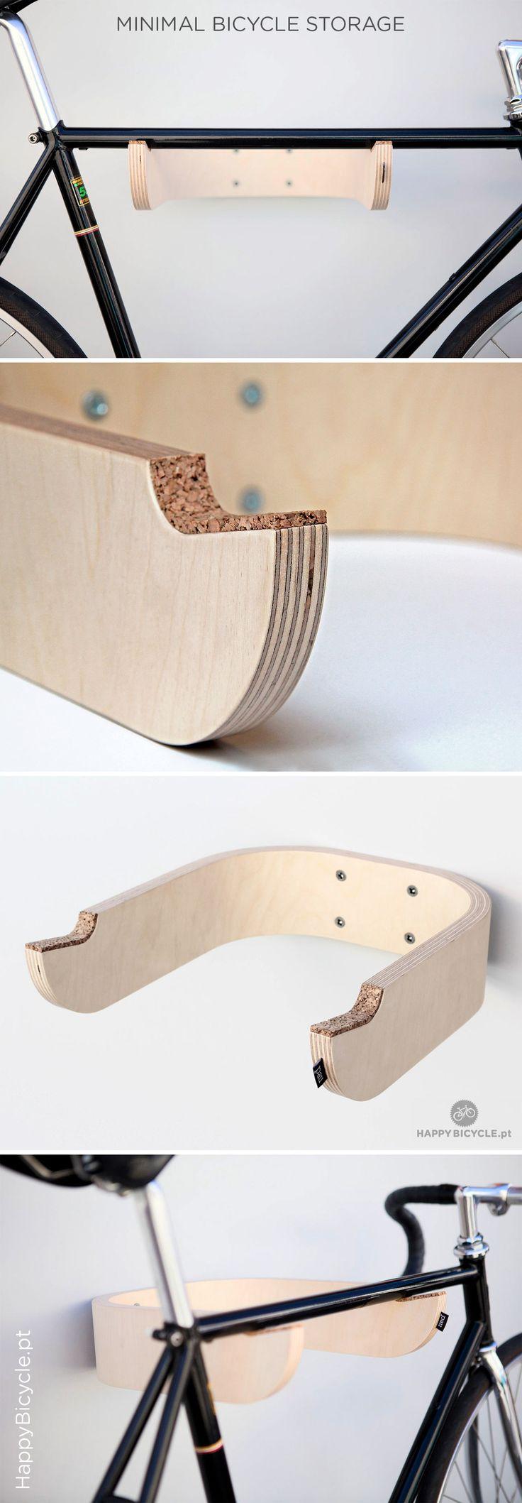 wood bike storage | by www.happybicycle.pt