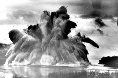 The Campbell River Ripple Rock Explosion