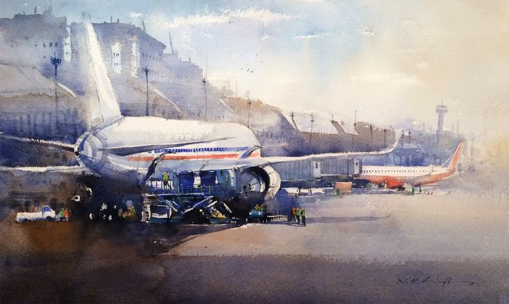 #Online #art #gallery of #watercolor #paintings for sale, buy paintings online some of best watercolors available online.