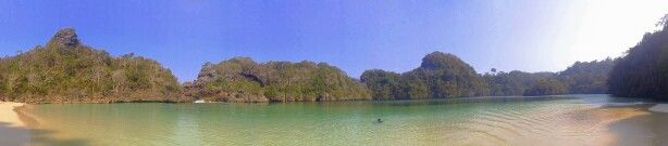 One of my favorite, Sempu Island. So beautiful!