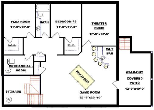 Modified bi level 2011543 by e designs plans pinterest Modified bi level plans