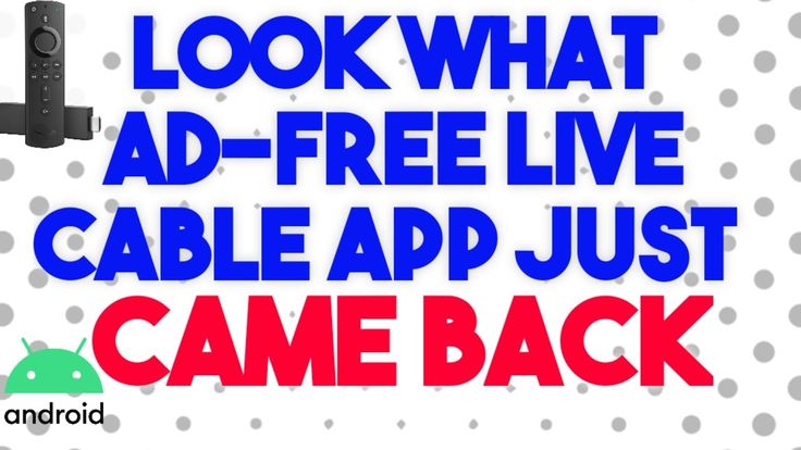 IT'S BACK! OLD TIME AWESOME FAVORITE ADFREE LIVE CABLE