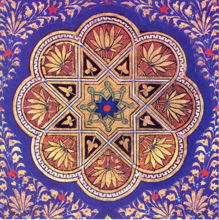 Timurid Koran Cover Istanbul 15th Century