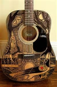 142 Best Sharpie My Guitar Images On Pinterest Painted