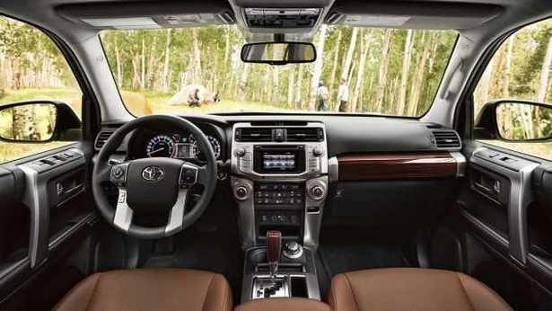 2017 Toyota 4Runner - interior
