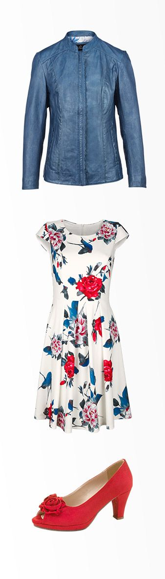 Das frische Blumenkleid gehört zu den Lieblingsstücken der Widder-Dame. Wem die Widder-Frau noch ihr Herz schenkt, verrät das KLINGEL-Horoskop. #Mode #Horoskop #Widder #Kleid