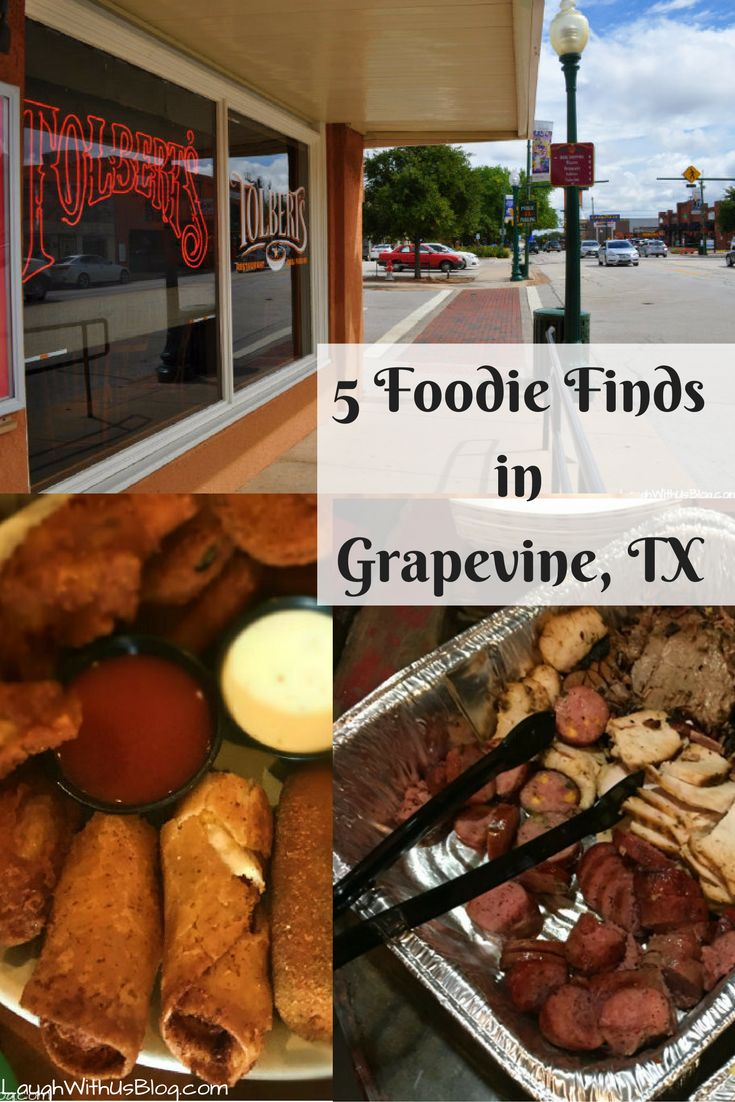 5 foodie finds in Grapevine, TX -- I bet there's something here you've never tried!