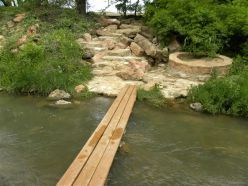 Nature Trail at the Lady Bird Johnson Park -  Fredericksburg TX