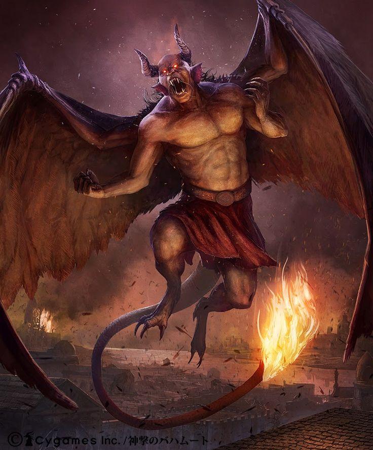 Картинки фэнтези дьявола