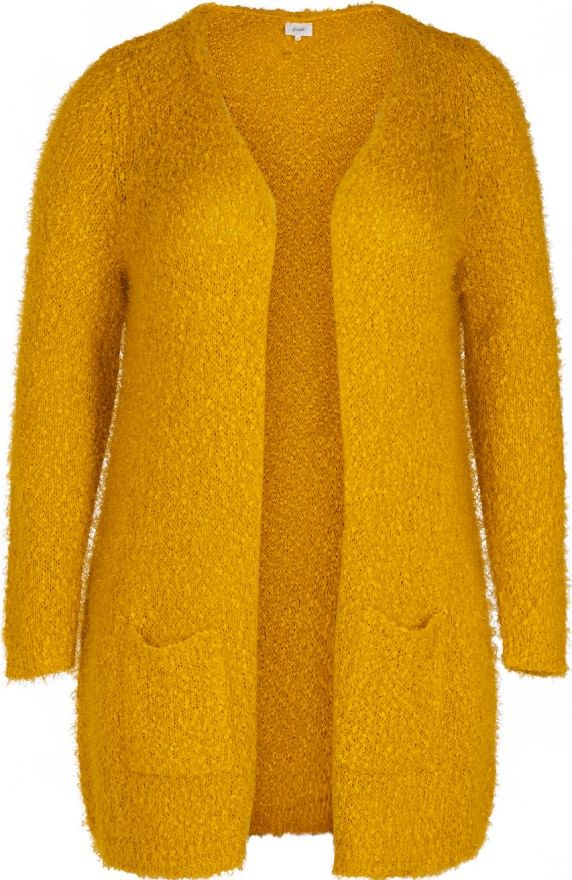 Gele cardigan