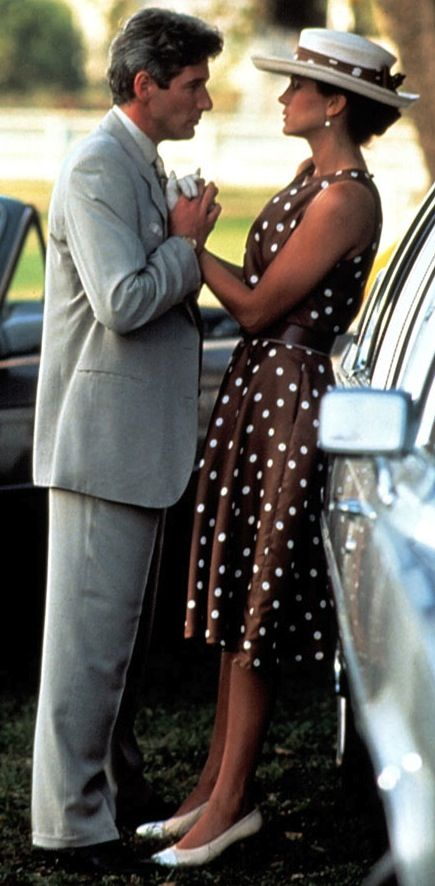 "Vivian (Julia Roberts) and Edward (Richard Gere) in ""Pretty Woman""."