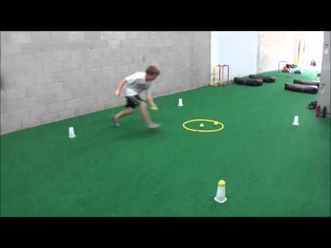 Youth Fitness Speed and Agility FUN - YouTube