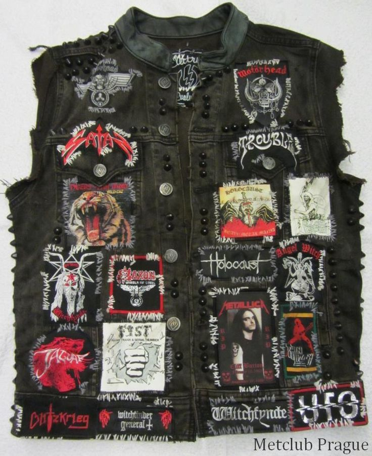 James Hetfield's Latest Battle Jacket
