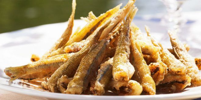 Friture de poissons Eperlans Lançons Joëls…