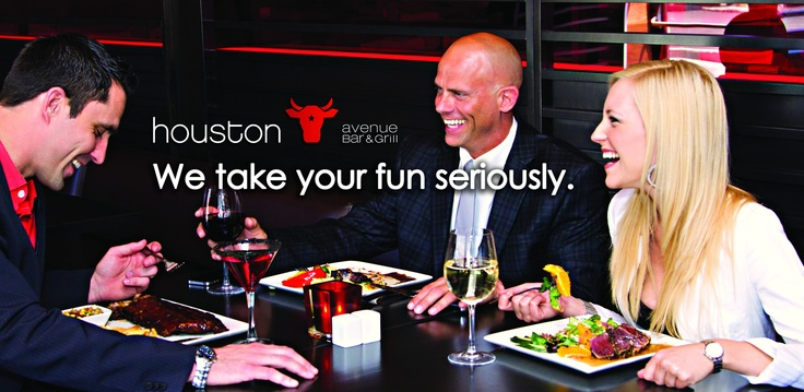 We Take Your Fun Seriously  @ #Houston Avenue Bar & Grill