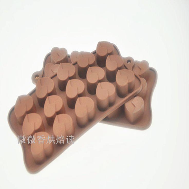 Фондант Silicon Инструменты для Литейной Формы Любовь формы кремния гель торт плесень шоколад желе пудинг плесень diy мыло ручной работы для выпечки инструменты