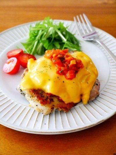 バジルチキンとろとろチーズラタトゥイユ♪作り置きや常備菜でアレンジ&リメイク!