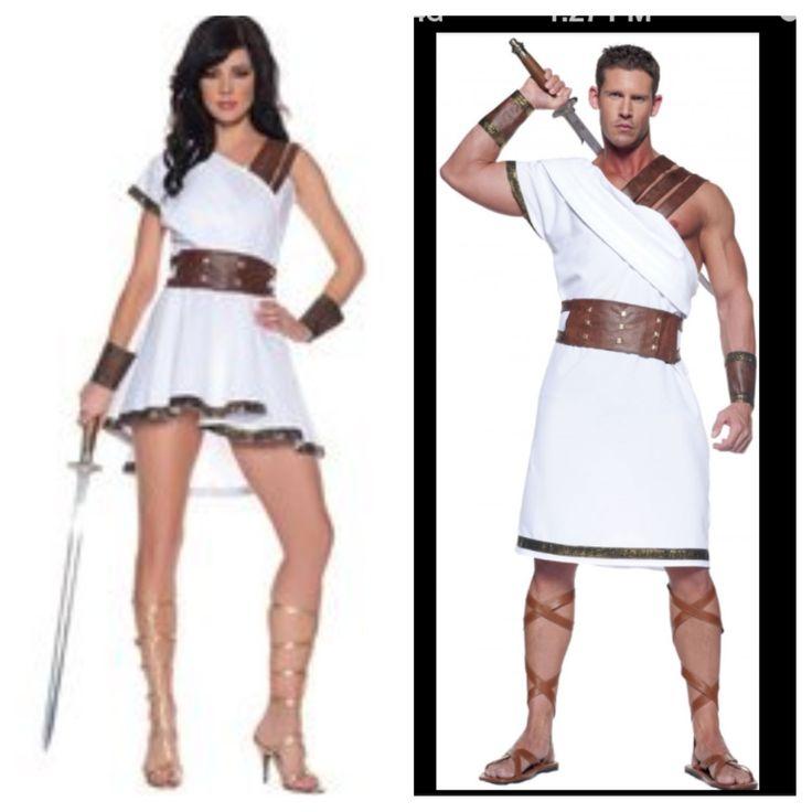 Greek Roman Couples Costumes Halloween Costumes