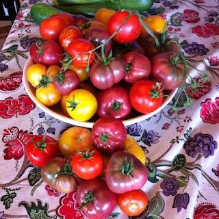 Zucchini tomato, Garden tomatoes and Salsa on Pinterest