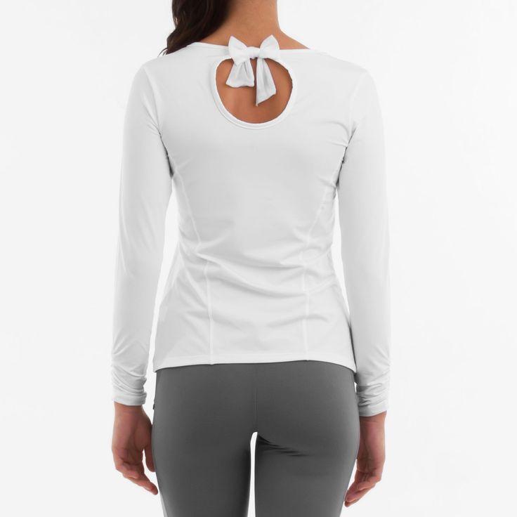 Remera Belén vista de espalda. Para más detalles: http://www.tiendascrubs.com.ar/remeras-manga-larga/remera-belen1/
