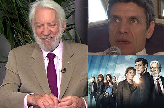 crossing lines tv show photos | Crossing-Lines-Donald-Sutherland-et-Marc-Lavoine-au-micro_reference ...