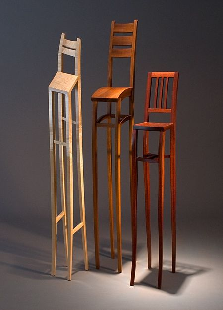 Danny Kamerath: Sculpture, Tall Chairs, Art, Chairs Chair, Furniture Design, Wood Th, De Danny, High Chairs, Danny Kamerath