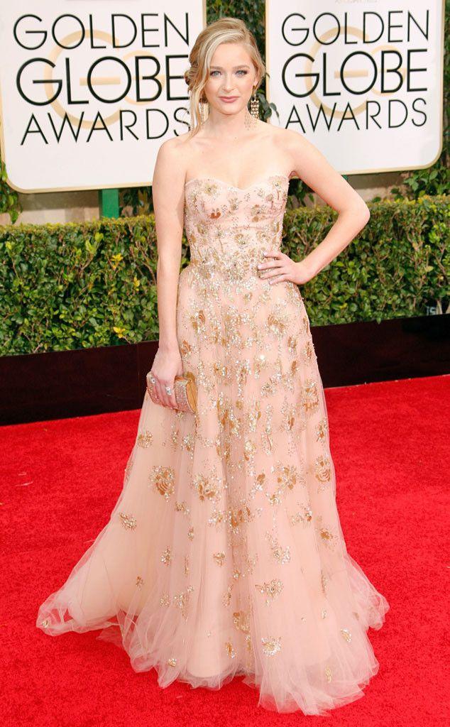 Greer Grammer from 2015 Golden Globes Red Carpet Arrivals  In Lorena Sarbu