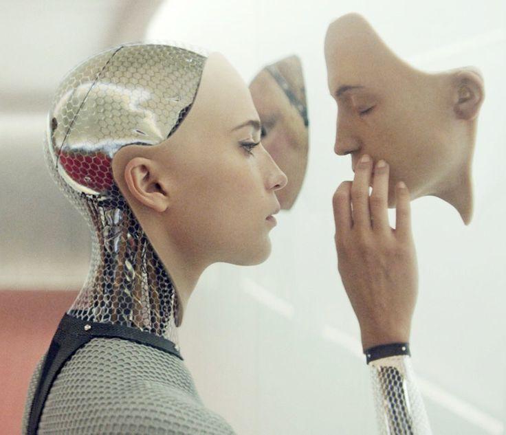 Alicia Vikander as Ava in EX MACHINA (2015)